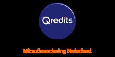 Logo van partner Qredits Microfinanciering Nederland
